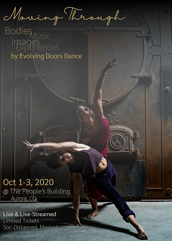 Evolving Doors Dance premieres Moving Through: Bodies, Music, Images, Experience