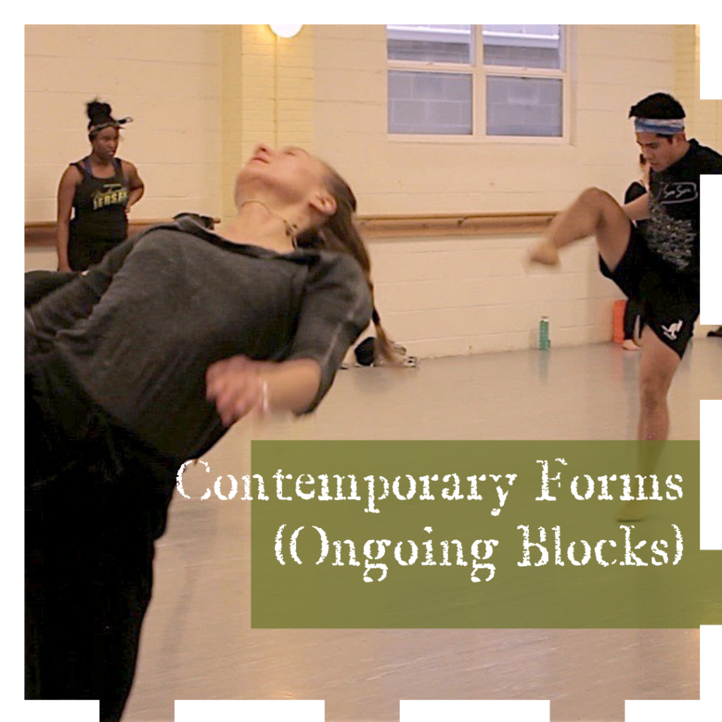Evolving Doors Dance Contemporary Forms (Ongoing / Workshop Format)