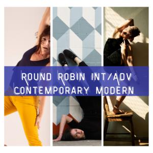 Round Robin Int/Adv Contemporary Modern (Lucy, Angie, Nikki)